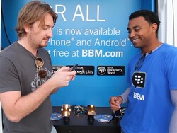 Fun Video: Checking out the BBM For ALL van in Miami!