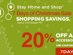 Save 20% on BlackBerry accessories during our 7 Days of Christmas Sale!