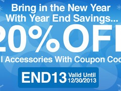 Save 20% on BlackBerry accessories during our ShopCrackBerry Year-End Sale!!