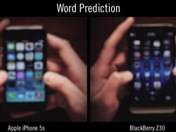 BlackBerry 10 or iOS - Which keyboard is faster at word prediction?