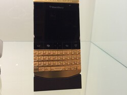 I just saw the $25,000 gold Porsche Design P'9981 BlackBerry and didn't buy it!