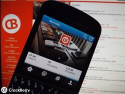 How to send a quick tweet on BlackBerry OS 10.2.1