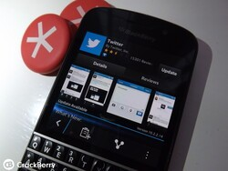 Twitter for BlackBerry 10 adds BBM updates and more with the latest version