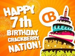 CrackBerry's 7th Birthday Contest Winners!