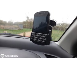 Review: ProClip Custom Suction Cup Mount for the BlackBerry Q10