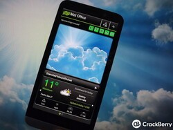 For UK BlackBerry 10 users why not check out the Met Office Android app?