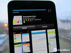 Do you actually use Documents To Go on your BlackBerry smartphone?