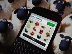 New BBM Sticker pack alert - Shaun the Sheep now available to purchase