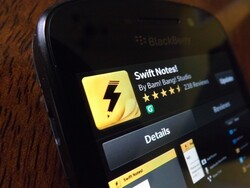 Swift Notes for BlackBerry 10 gets a sweet update and is still free!