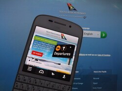 South African Airways release a native BlackBerry 10 app