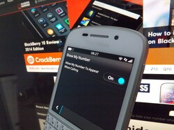 How to hide your number when making a phone call on BlackBerry 10