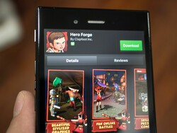 Jump into the fire of destiny with Hero Forge for BlackBerry 10