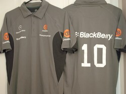 Win a Team CrackBerry Racing Polo!