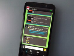 How to add a wallpaper within a BBM chat using BlackBerry 10