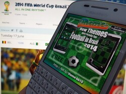 Theme for BlackBerry 10 gets a special World Cup update for you soccer fans