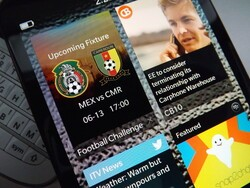 Play along with the World Cup using Football Challenge for BlackBerry 10