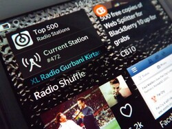 Mix up your tunes with Radio Shuffle for BlackBerry 10