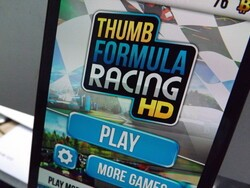 Get some free F1 action on your BlackBerry 10 smartphone with Thumb Formula Racing