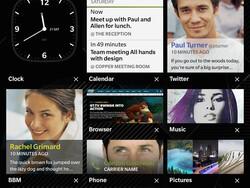 BlackBerry Passport & OS 10.3 screenshots!