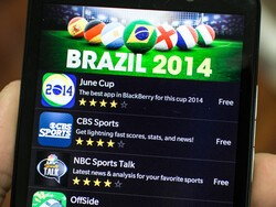 Follow the World Cup in Brazil with these great apps for BlackBerry