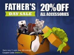 Father's Day Sale: Everything at ShopCrackBerry is 20% OFF!