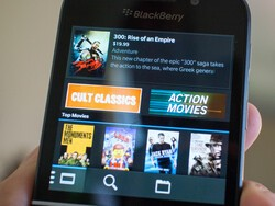 BlackBerry shutting down music and video stores on July 21st