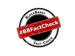 The BlackBerry fact check portal is a great idea and here are ways they can make it even better