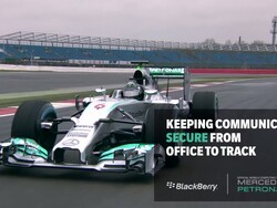 From the office to the track, the MERCEDES AMG PETRONAS F1 team stays secure with BlackBerry