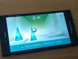 More free fun BlackBerry 10 gaming with Smash Hit