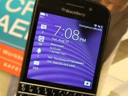 How do I save ICE numbers on BlackBerry 10