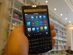 The BlackBerry P'9983 gets its UK launch at Harrods