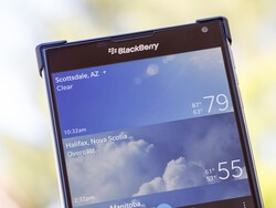 BeWeather 10 Pro updated to support the BlackBerry Passport