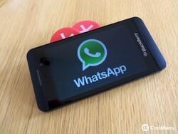 WhatApp gets a BlackBerry Beta Zone update