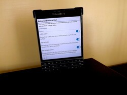 Lift and flip with BlackBerry 10.3