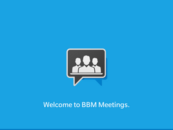 BBM Meetings arrives in BlackBerry World a little bit early