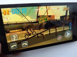 Another Android beauty with Bike Racing 3D