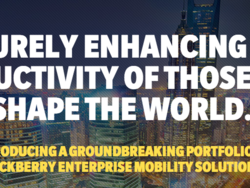 Watch the BlackBerry for Enterprise event replay