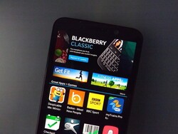 The Classic makes an appearance in BlackBerry World