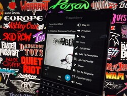 How to use the music equalizer with BlackBerry 10.3