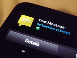 Get the text messages icon back on your BlackBerry
