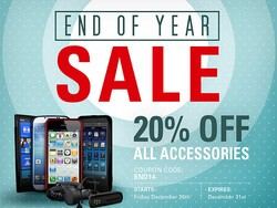 20% off BlackBerry accessories!