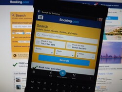 Hotel booking straight from your BlackBerry