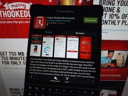 Canadian Virgin Mobile users now have a BlackBerry 10 app