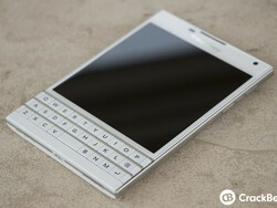 Pick up the white BlackBerry Passport in the UK SIM free