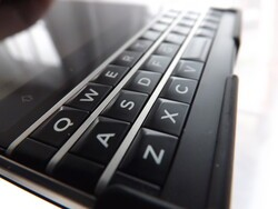 How do you scroll using your BlackBerry Passport?