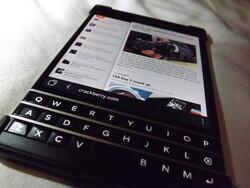 BlackBerry Passport scrolling poll results