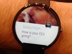 BBM app coming soon for Android Wear devices