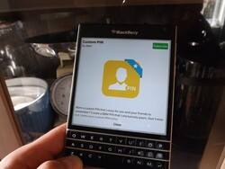 Are you using a custom BBM PIN?