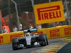 Solid start for Hamilton and Rosberg