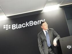 John Chen speaks on diversifying BlackBerry